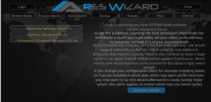 fix-kodi-buffering-ares-wizard