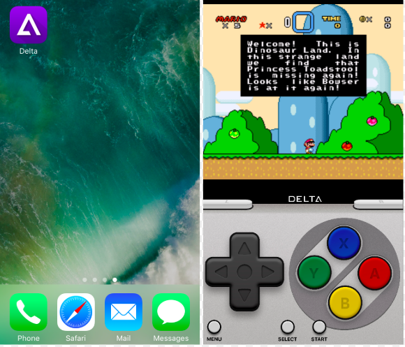 Delta iOS Emulator Install on iOS
