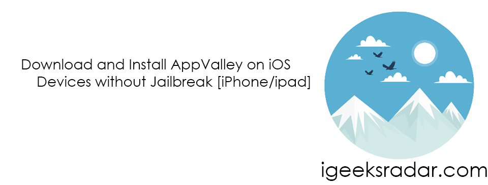 Download AppValley for iOS