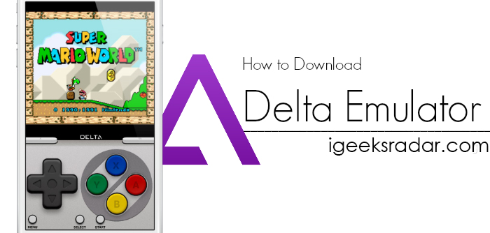 Download delta emulator iOS