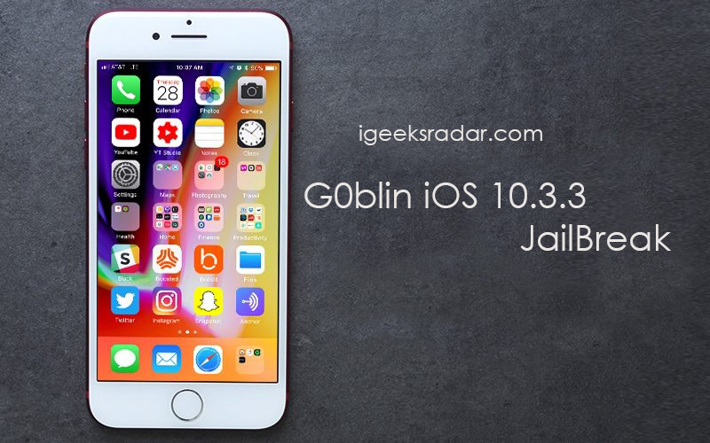 How To] Download G0blin Jailbreak IPA for iOS 10 3-10 3 3