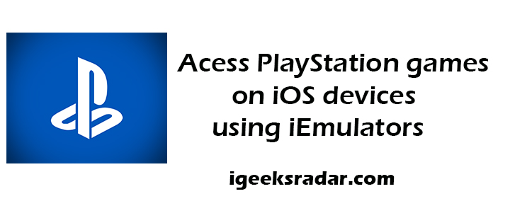 Download PlayStation Games on iOS