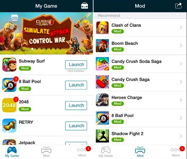 Download XModGames for iOS(iPhone/iPad) No Jailbreak[How to Install]
