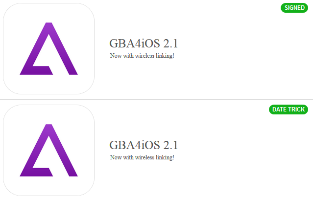 Download GBA4iOS 2.1