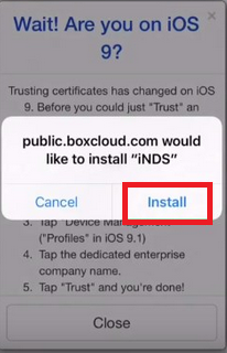 Install iNDS Emulator on iOS 11