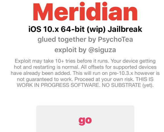 Start Jailbreaking with Meridian