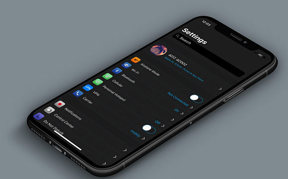 eclipse darkmode for iOS