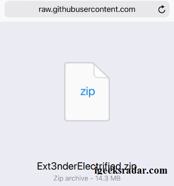 download Ext3nderElectrified zip file