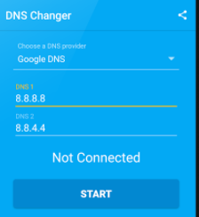 Add DNS Address