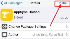Install AppSync Unified