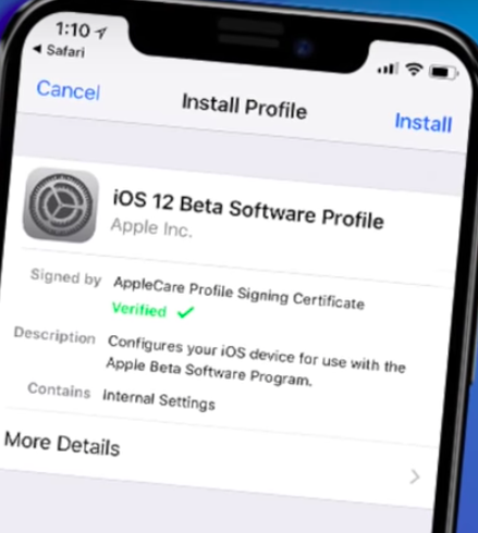 iOS 12 Beta 1 Install on Your Device