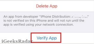 android network info ii: App Even Unable To Verify App