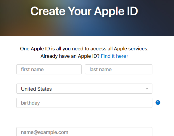 Good Creating Another Apple ID