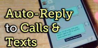 Auto Reply to Calls & Texts on iPhone