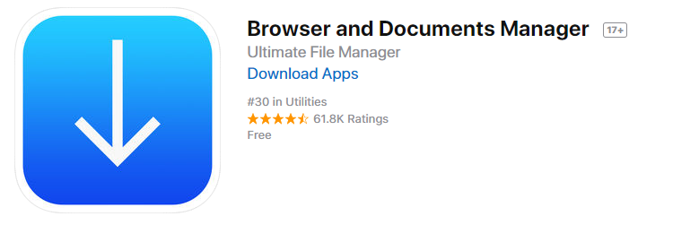 Browser and File Manager for Documents