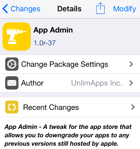 AppAdmin Update: Downgrade iOS Apps to their Older Versions 2019