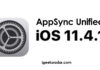 Appsync Unified for iOS 11.4 for Electra