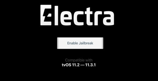 Jailbreak tv0S 11.2-11.3