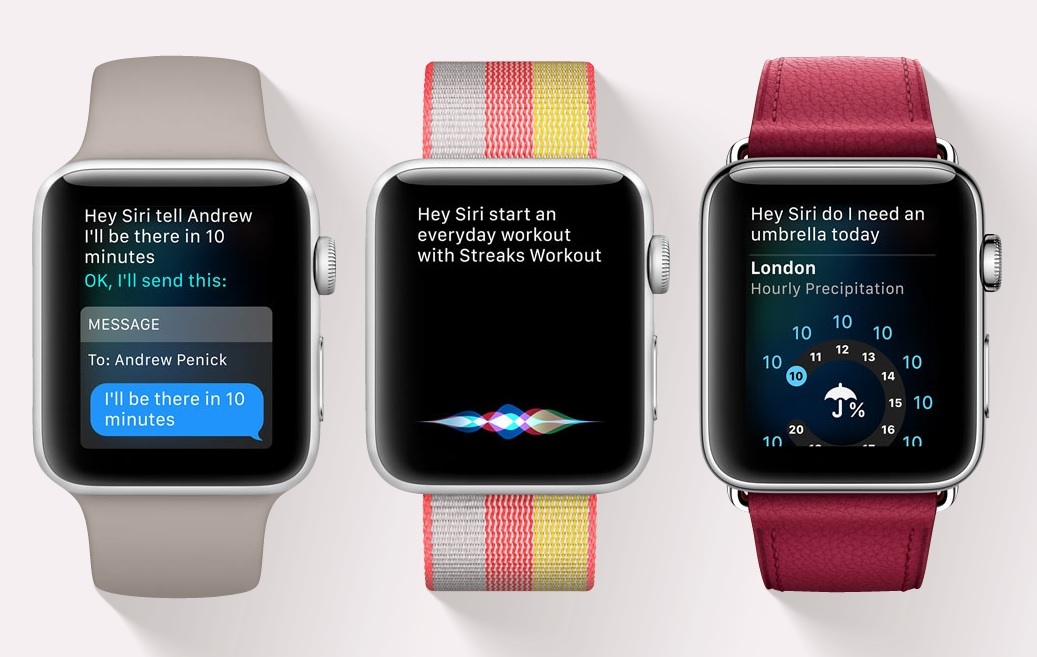 Apple Watch 3 - Using Siri