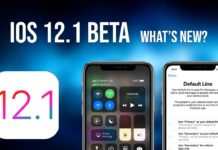 iOS 12.1 Beta WatchOS 5.1 and tvOS 12.1 update