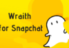 Installed & Using Wraith on my SnapChat