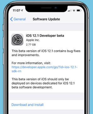 Download & Install iOS 12.1 Beta 1 Updates iPhone & iPad