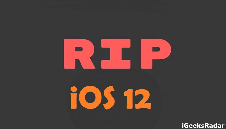 iOS-12-apple-not-signing