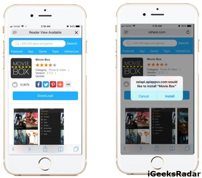4 Ways to Download MovieBox Pro on iOS(iPhone/iPad) No Jailbreak