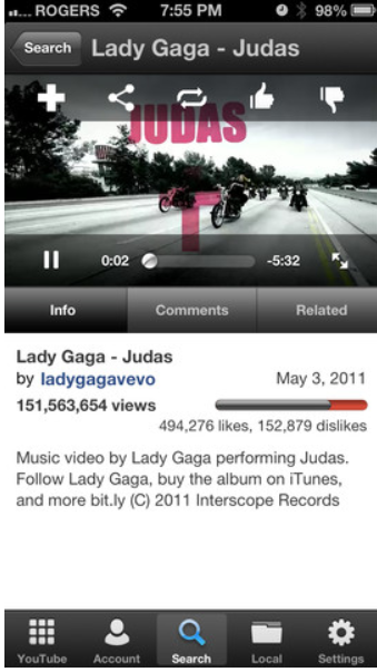 McTube| Video Downloader for iPhone