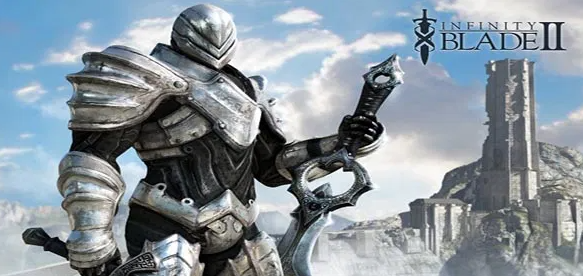 Infinity Blade Game on iOS