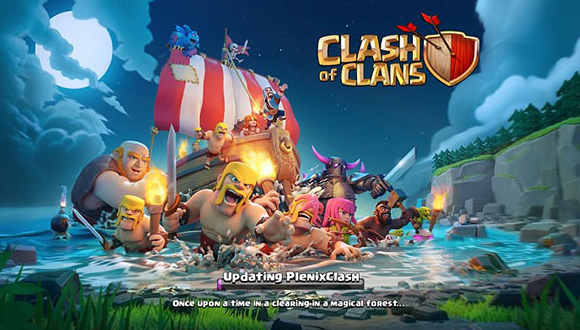 PlenixClash of Clans Hack on iOS - Installed