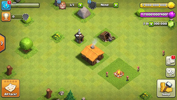 Plenix Clash of Clans Hack Game on iOS